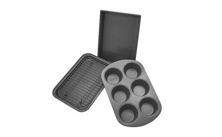 4-Piece Non-Stick Toaster Oven Bakeware Set