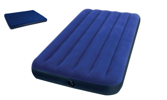 classic twin downy airbed mattress spare sleepover portable bed