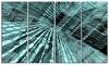 Binary Code - Contemporary Art Aluminium Artwork