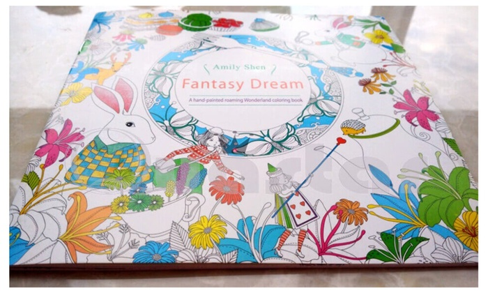 Atelier45 Natural Singular Mirror Fantasy Dream Adult Coloring Books