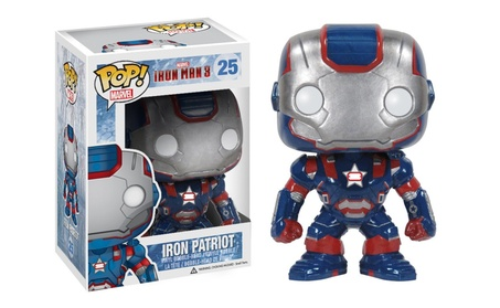 Funko POP Marvel Iron Man Movie 3: Iron Patriot Action Figure be2874e4-eb53-4a1b-84b0-59ed88db5339
