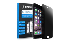 Insten Privacy Tempered Glass LCD Protector For iPhone 6 Plus 6S Plus at eForCity, plus 6.0% Cash Back from Ebates.
