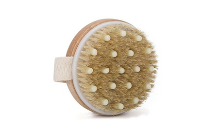 Premium Natural Bristle Wooden Bath Body Back Dry Skin Brush Scrubber 227afe06-7ad4-4da2-bbc9-e6b04b5a23e5