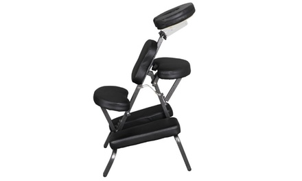 Portable Massage Tattoo Table Salon Facial Chair Spa Pad Home Adjustable Height