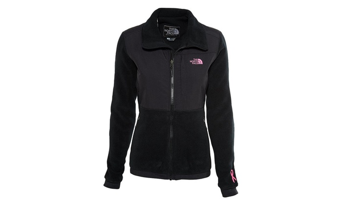afabceaab The North Face Pink Ribbon Denali Jacket Women's | Groupon