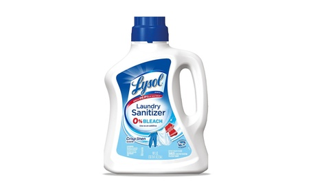 Lysol Laundry Sanitizer Additive, Crisp Linen, 90oz f4e1439e-50ef-4726-9d57-c92dedc55585