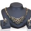 Imitation Crystal Rhinestone Necklace Earring Bangle Ring Jewelry Sets