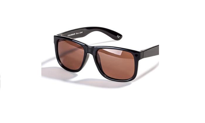 a9fa7a0eb9 Up To 76% Off on Black Square Frame Sunglasses
