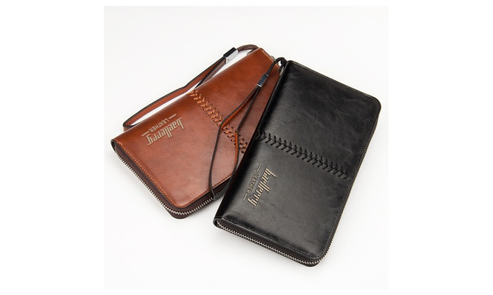 Baellerry Business Style Leather For Men - Bifold Wallets