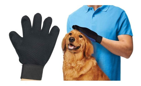Pet Dog Cat Gentle Deshedding Brush Grooming Glove Massage Tool 71d8fdb2-5280-4d03-a10a-0fdb7d33d96f