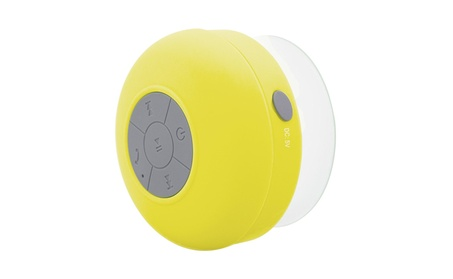 Portable Waterproof Shower Speaker Bluetooth 3.0 Yellow 02286084-84a1-4470-97cd-0192959caf3b