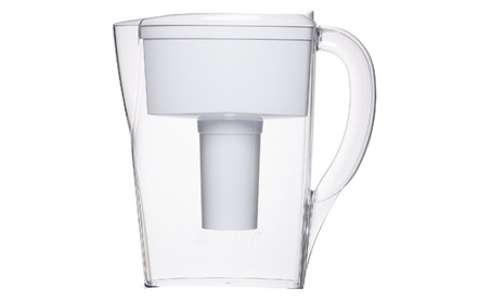 6 Cup Space Saver BPA Free Water Pitcher with 1 Filter b28fc449-c08a-4a07-a8a9-0d3f89c8712a