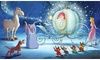 Roommates Disney Princess Cinderella Carriage XL Chair Rail Prepasted Mural