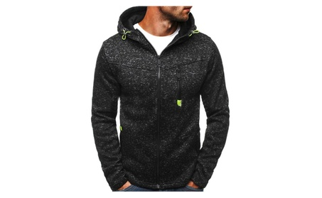 Men Long Sleeve Slim Fit Warm Hoodie Coat Sweater Jacket Sweatshirt 9bd2a010-4cc7-46bc-8c22-f321fa14edfa