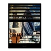 Philippe Hugonnard Window View The Gherkin 1 Canvas Print 24 x 32