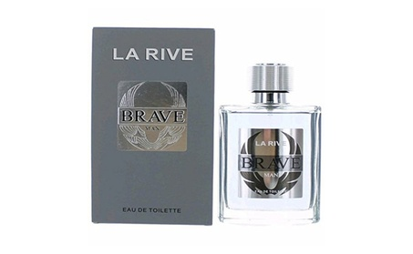 La Rive ambrmlr34s 3.4 oz Mens Brave Eau De Toilette Spray