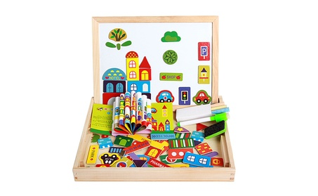 Forest Park Multifunctional Magnetic Puzzle Drawing Educational Toys 54013dc0-15e1-46dd-ae02-1c013d97e4b7