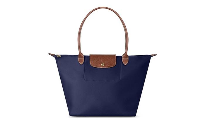2705aed71290 Longchamp Le Pliage Large Shoulder Tote Bag | Groupon