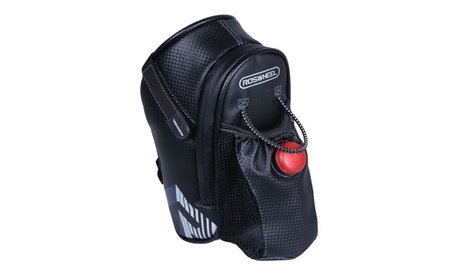 Bicycle Saddle Seat Tail Bike Rear Bag with Water Bottle Pocket Light 2bad0116-c9fa-4693-8eff-32e04b7fb6ad