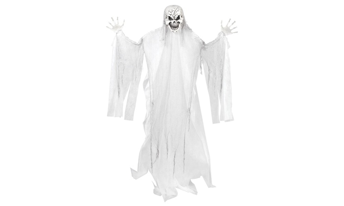 Halloween Large White Reaper Hanging Props Groupon