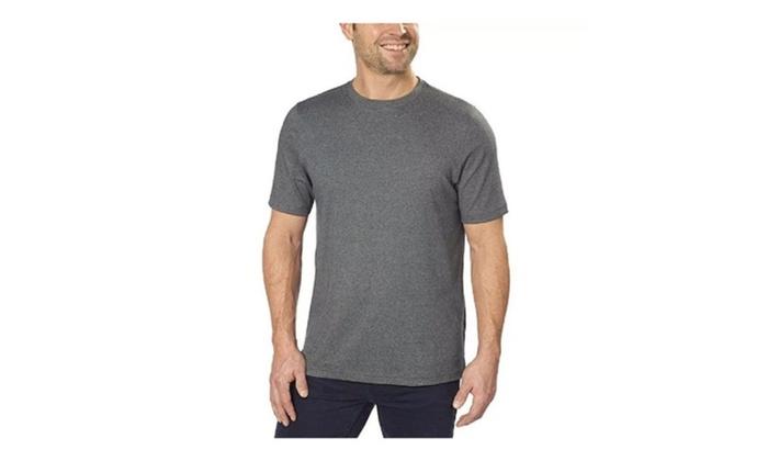 Up to 9 off on kirkland signature pima cotto groupon for Pima cotton crew neck t shirt