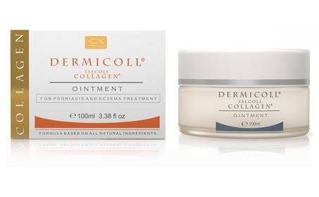 Salcoll Collagen Dermicoll for Eczema & Psoriasis Steroids Free 100ml