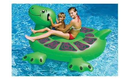 "Inflatable Giant Rideable Turtle Float Toy 74"" 529cdbfb-88ca-44bc-8580-08fb2375f8ba"