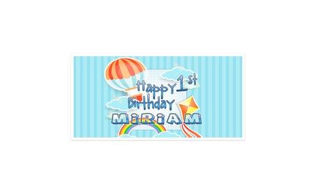 Hot Air Balloon First Birthday Banner 4cefc53f-4a34-46ca-b68b-58d9a4192581