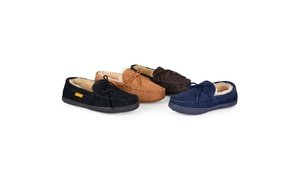 Brumby Mens Moccasin Sheepskin Slippers
