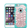 Insten Hard Crystal Tpu Case For Iphone 6 Plus 6s Plus Clear Teal