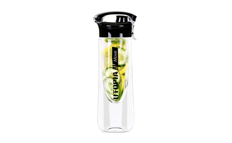 Fruit Infuser Water Bottle, Leak Proof Durable Tritan Body (25 OZ) 45fdc1c8-32db-4c17-9668-b7ad2f4c333a