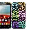 Insten Leopard Hard Rubber Case For Alcatel One Touch Fierce 2 7040t