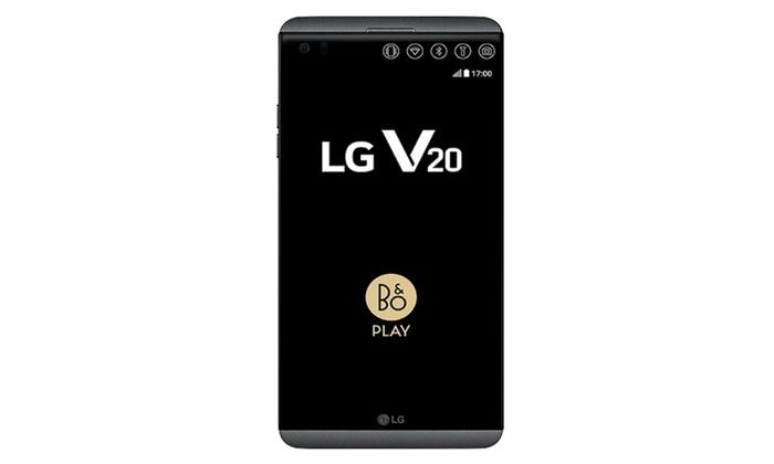 LG V20 (LS997) Titan Black (Unlocked) - Smartphone