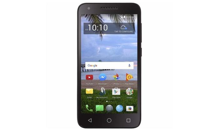 Simple Mobile Alcatel Raven 4G LTE Prepaid Smartphone | Groupon