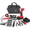 20-Volt Max Lithium Ion Cordless Drill with 70-Piece Project Kit