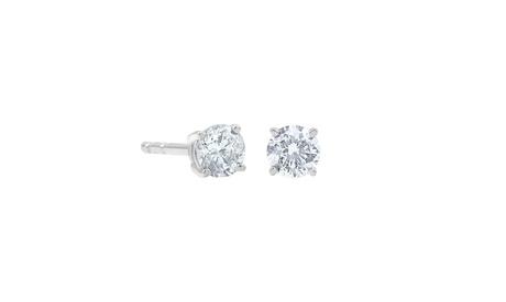 1 1/2 Carat T.W. Diamond Stud Earring in 14Kt Yellow Gold Jewelry for Women