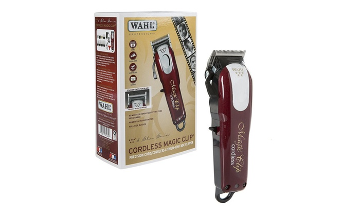 wahl professional 08148 5 star cordless magic clip groupon. Black Bedroom Furniture Sets. Home Design Ideas