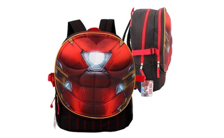 Marvel Iron Man Chest Shape Backpack - 17.5 78592e18-db78-4393-86ab-352a4f10e876