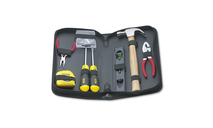 Stanley Bostitch General Repair Tool Kit, Water Resistant Black Case