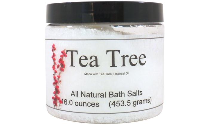 All Natural Tea Tree Bath Salts