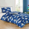 All American Collection New Childrens Shark Bedding Set