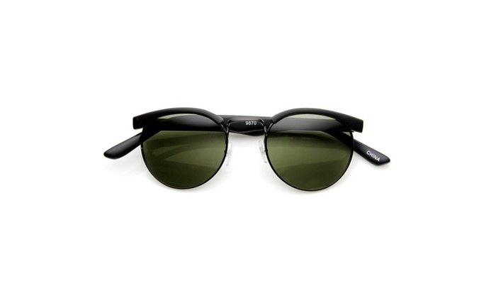 MLC Eyewear 'Sackville' Round Fashion Sunglasses