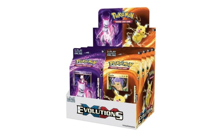 The Pokemon International PKU80160 Pokemon XY12 Evolutions Theme Deck 581918eb-2295-4869-8da2-6430faddf718