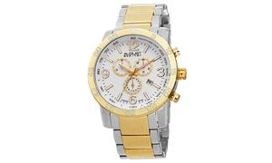 August Steiner Men's Quartz Chronograph Bracelet Watch ASGP8097TTG