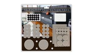 244 Heavy-Duty Premium Durable Self-Stick Felt Furniture Floor Pad Protector Set