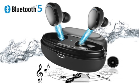 Wireless Earbuds Bluetooth 5.0 headphones with Charging Case