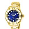 Invicta 20177 Blue Dial Pro Diver Automatic 3 Hand Mens Watch