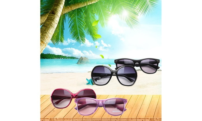 14be503784 Anais Gvani Women Classic Wayfarer Round Frame 100% UV 400 protection  Sunglasses