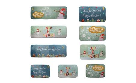 JNTworld Indoor Christmas Cartoon Carpet Mat Doormats 409b4311-1044-47bb-801f-e7464f71a16f