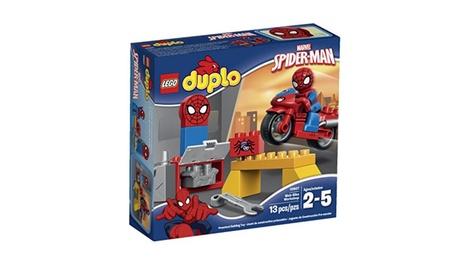 LEGO DUPLO Spider-Man Web-Bike Workshop 10607 Spiderman Toy 0cf53922-79ec-43bb-a273-d9401b272b93